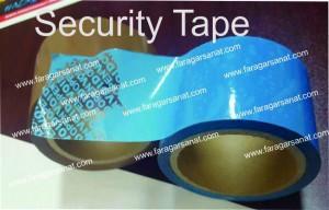 نوار چسب های امنیتی